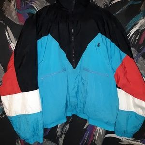 Vintage 90s bill blass windbreaker size XL